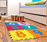 Tapetes de colores para bebés