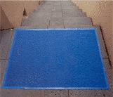 Tapete Azul de rizo