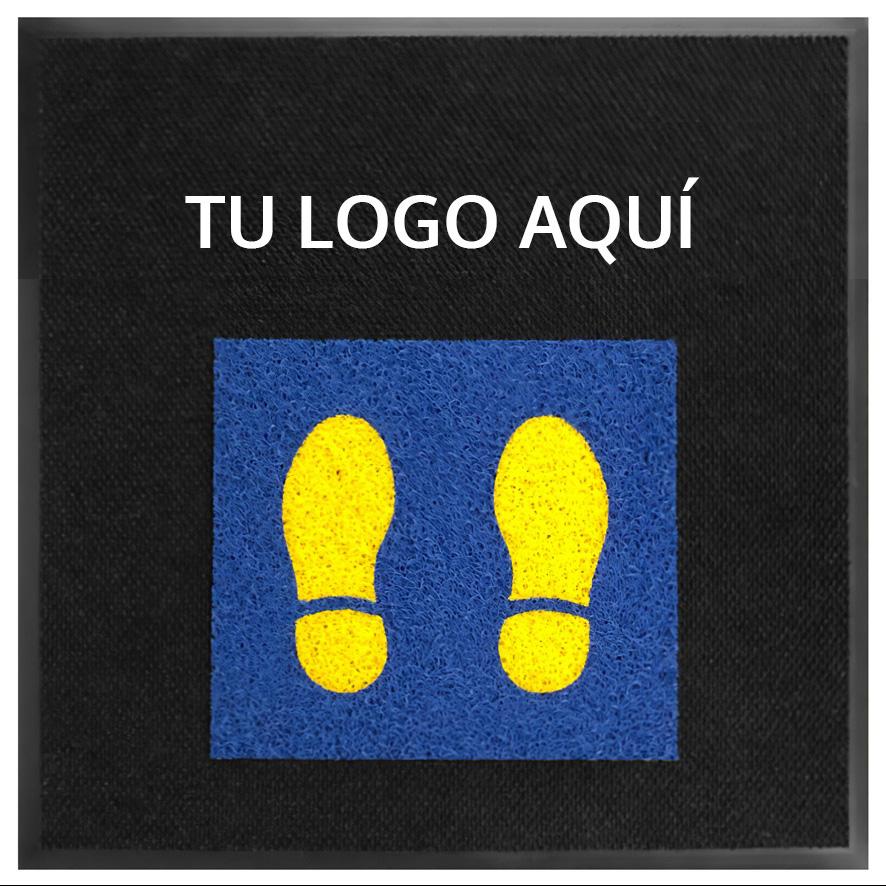 No. 13100 Tapetes Sanitizantes con Logo y Tapetes Sana Distancia