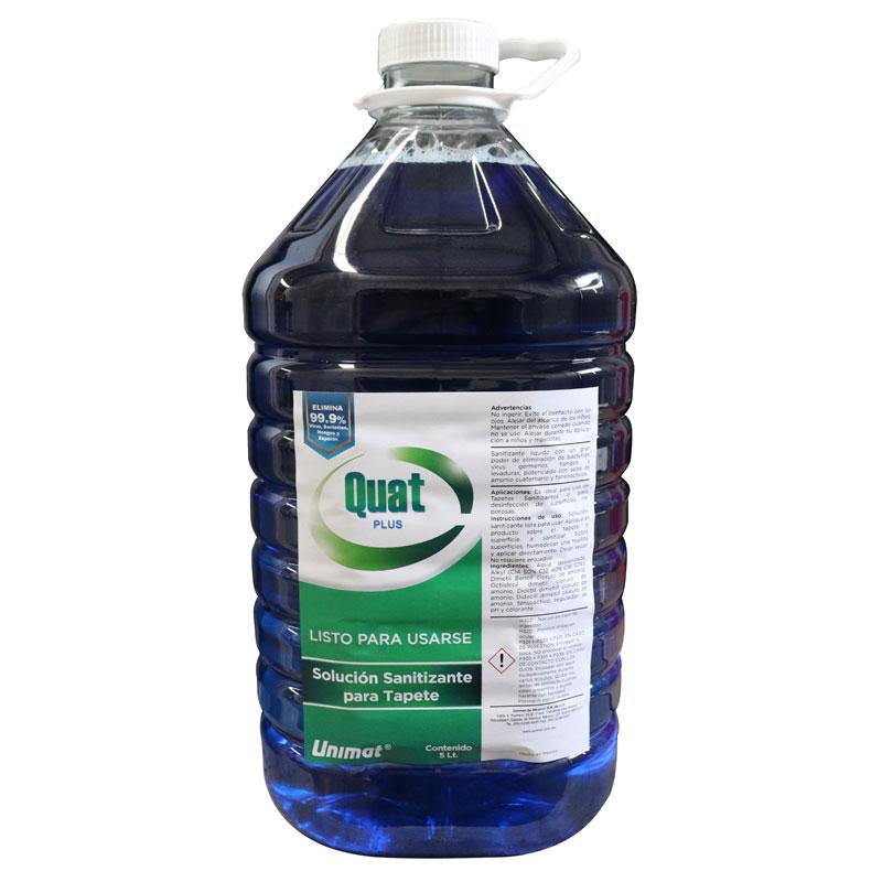 No. 8100 Quat Plus – Solución Sanitizante (Listo para usarse)
