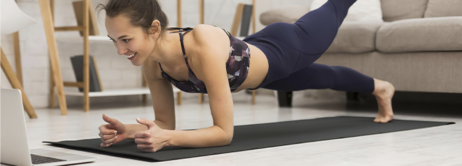 Tapetes para hacer ejercicio